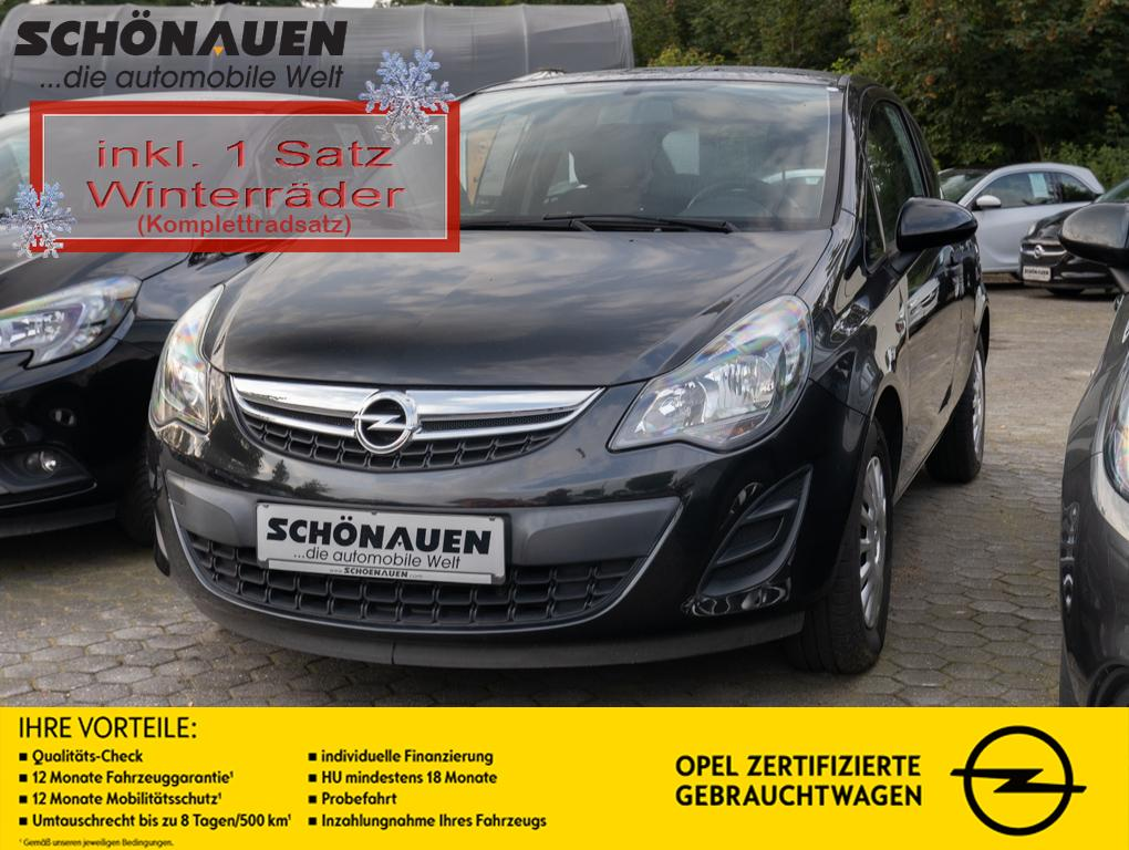 Opel Corsa 1.2 16V SELECTION +KLIMA+WR+MOBILES NAVI+, Jahr 2013, Benzin