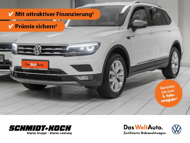 Volkswagen Tiguan Allspace 2.0 TDI 4Motion Highline, Jahr 2021, Diesel