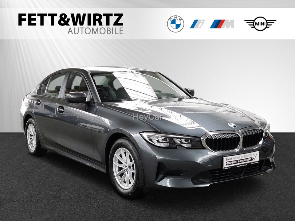 BMW 318d Adv. Aut. LC-Prof. HUD Sportsitze DA-Prof., Jahr 2020, Diesel