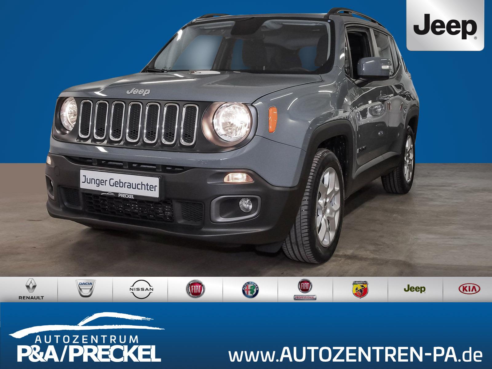 Jeep Renegade 1.4 MultiAir Longitude /Automatik / Klima / Navi /SHZ / PDC / LM-Felgen, Jahr 2017, Benzin