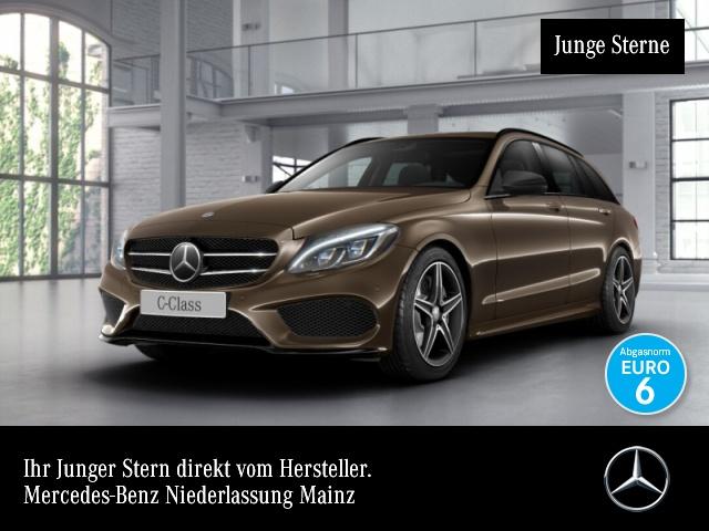 Mercedes-Benz C 400 T 4M AMG Distr+ ILS LED Night Navi Totwinkel, Jahr 2015, Benzin