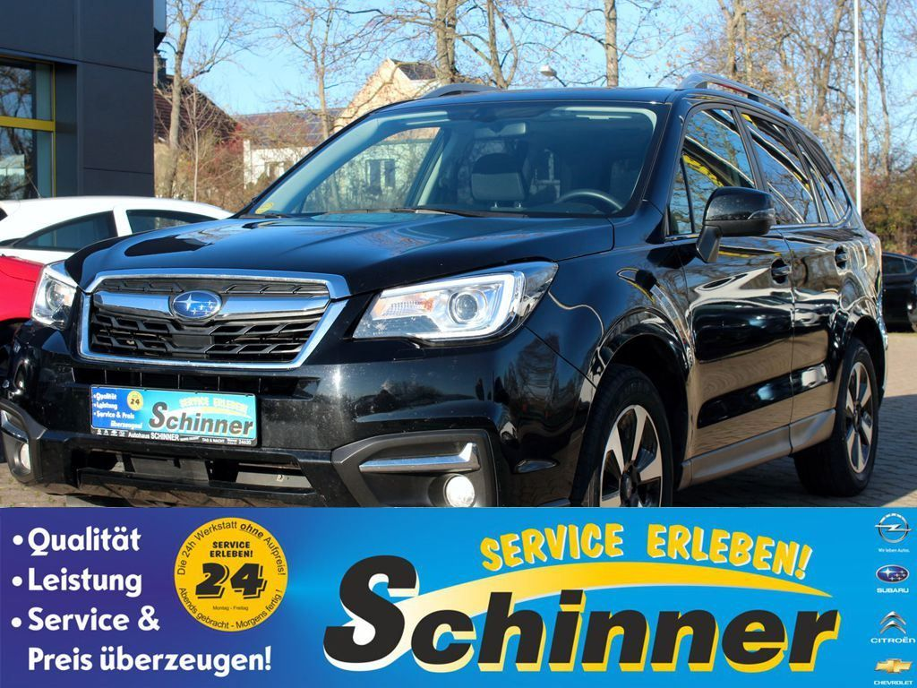 Subaru Forester 2.0D Lineartronic Exclusive Modell wie 2018, Jahr 2017, Diesel