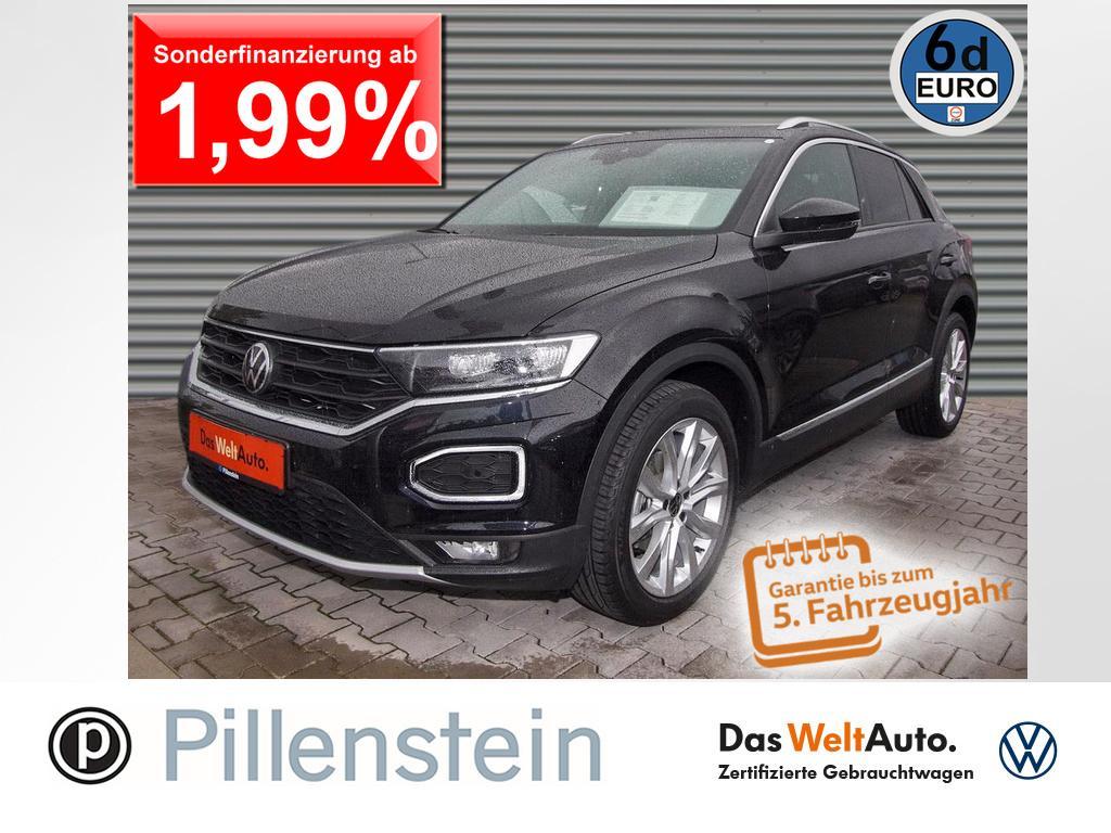 Volkswagen T-Roc 1.5 TSI Sport ACC DAB+ LED PANO KAMERA 18`, Jahr 2021, Benzin