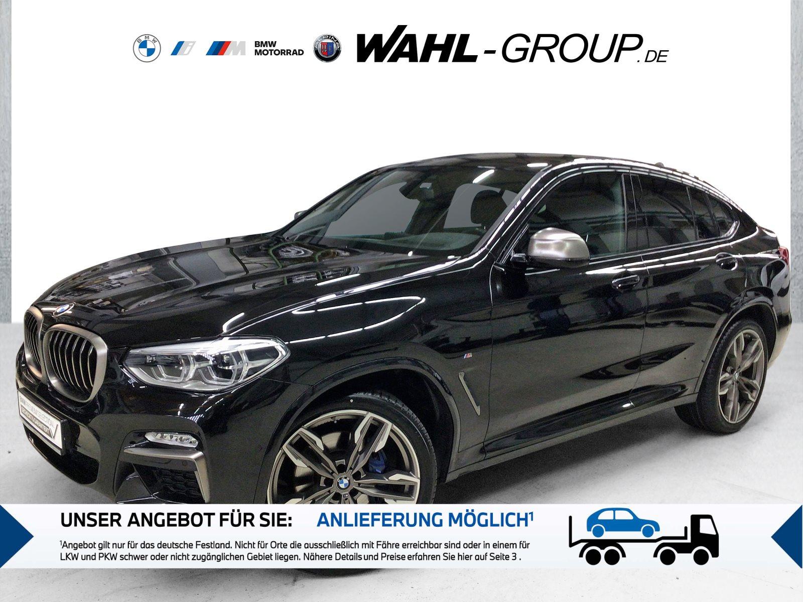 BMW X4 M40i Head-Up HiFi LED WLAN Standhzg. AHK, Jahr 2018, Benzin