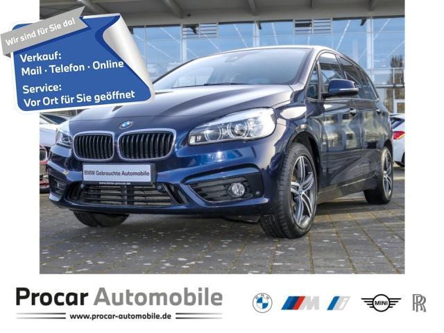 BMW 220 Gran Tourer Sport Line Head-Up Leder AHK, Jahr 2018, Diesel