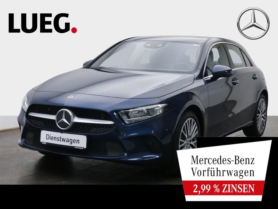 Mercedes-Benz A 220 4M PROGRESSIVE+18''+MBUX-HIGH+KAMERA+PTS, Jahr 2021, Benzin