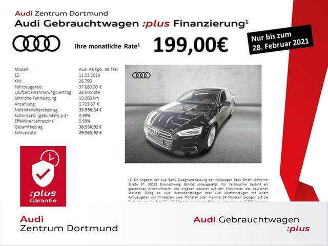 Audi A5 Sportback sport 45TFSI Navi+/Leder/eSitze/VC, Jahr 2019, Benzin