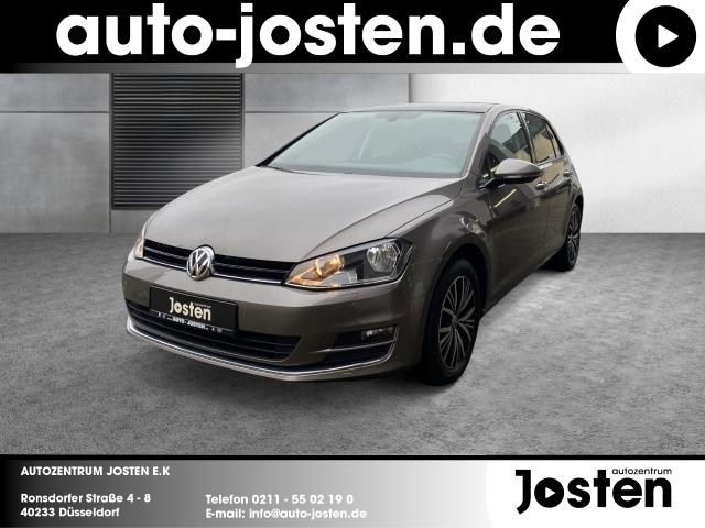 Volkswagen Golf VII Allstar 1.4 TSI Navi Kurvenlicht Panorama Fernlichtass., Jahr 2017, Benzin