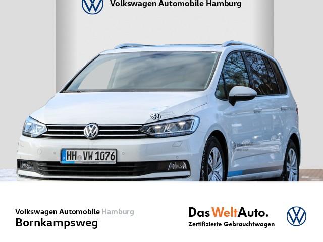 Volkswagen Touran Comfortline 2,0 l TDI DSG anklappbare AHK Klimaautomatikk LM Navi PDC, Jahr 2020, Diesel