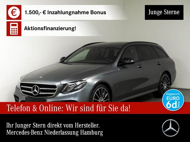 "Mercedes-Benz E 450 T 4M AMG/Wide/COM/SHD/Multi/20""/360°, Jahr 2019, petrol"