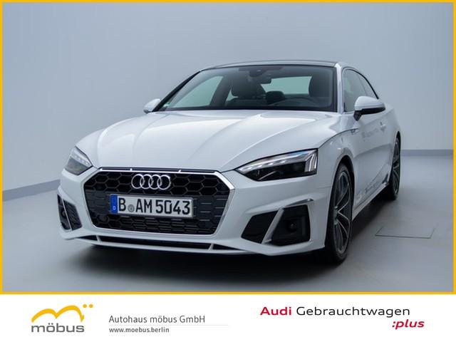 Audi A5 Coupé 40 TFSI S line S-TRO*PANO*MATRIX*HUD*BT, Jahr 2020, Benzin