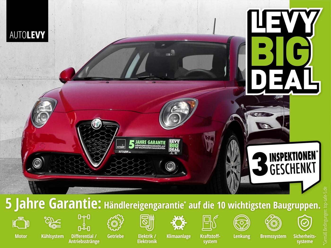 Alfa Romeo MITO 1.4 8V 3-türig *Klimaanlage*Radio/CD*WKR*, Jahr 2017, Benzin