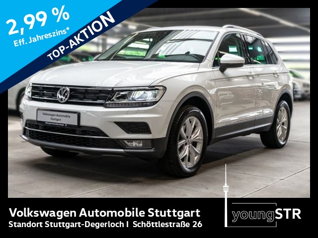 Volkswagen Tiguan 1.4 TSI Highline 4motion DSG Navi ACC, Jahr 2017, Benzin