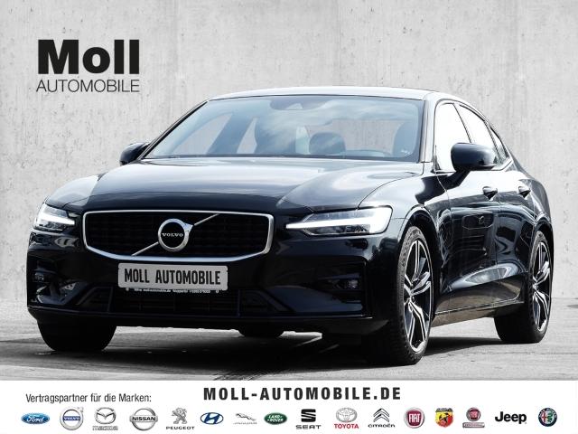 Volvo S60 T5 Geatronic R-Design LadePRO,M&S,Licht,Inte, Jahr 2019, Benzin