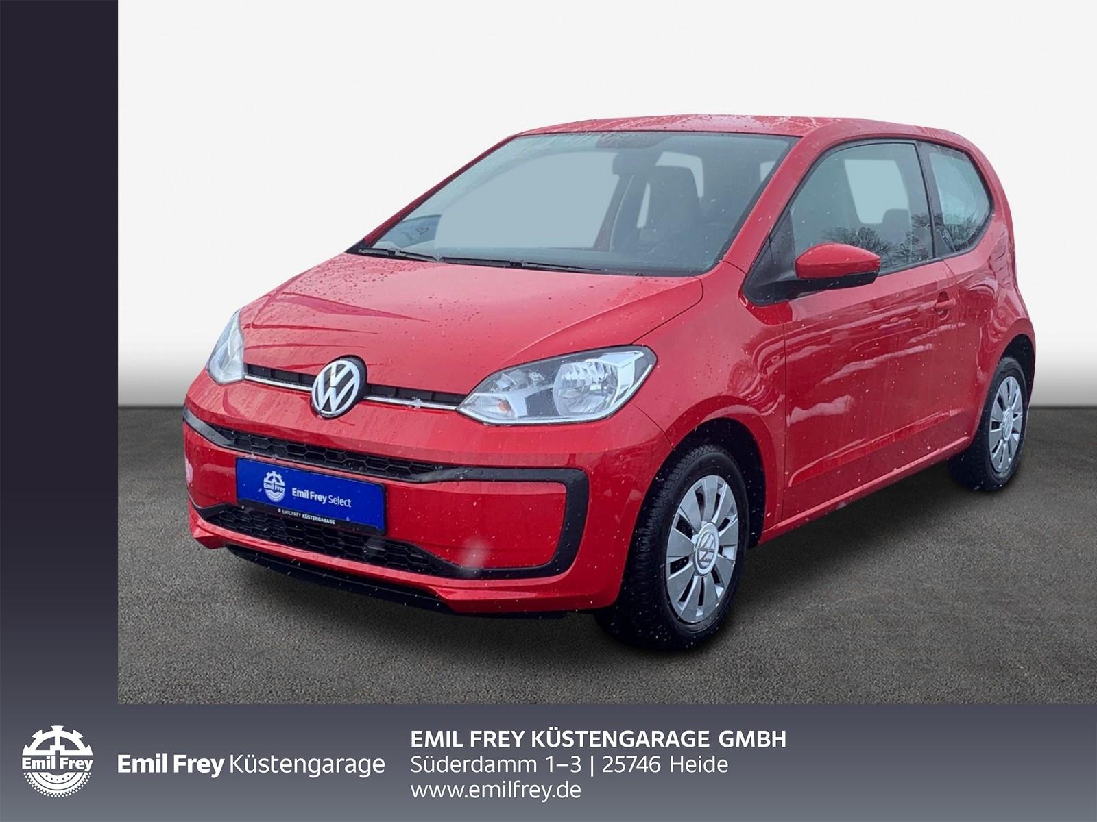 Volkswagen up! 1,0 BMT move PDC GJR KLIMA TELEFONSCHNITTSTELLE, Jahr 2016, Benzin