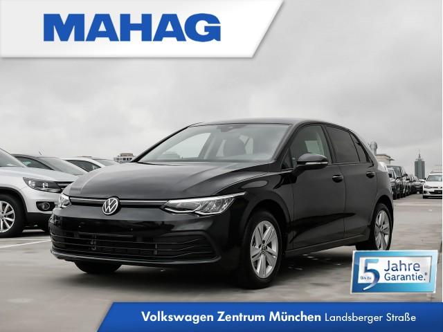 """Volkswagen Golf VIII Life 1.5 TSI 6-Gang - Sitzheizung vorne - Navigationssystem """"Discover Pro"""" - Einparkhilfe vorn und hinten - Ambientebeleuchtung 10-farbig - Spurhalteassistent - LED-Scheinwerfer - """"Keyless Start"""" Golf 1,5 Life BT096 TSIM6F, Jahr 2020, petrol"""