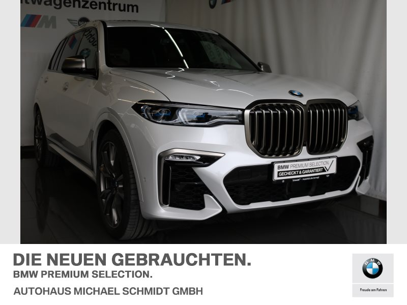 BMW X7 M50d LASER+B&W+Head-Up+AHK+22 +SKY+LOUNGE+ACC+PANORAMA+HUD+WLAN, Jahr 2019, diesel
