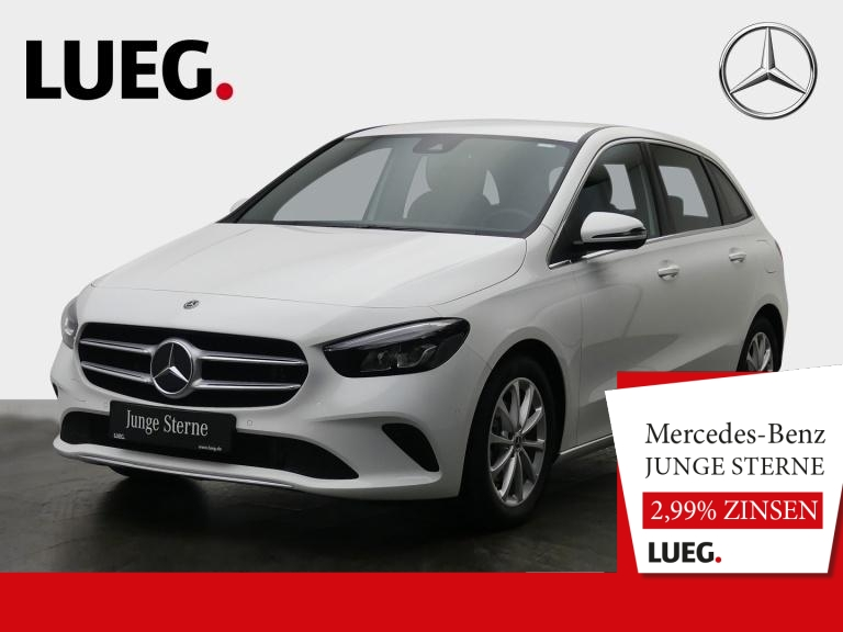Mercedes-Benz B 180 Progressive+MBUX+NavPrem+LED-HP+ParkAssist, Jahr 2019, Benzin