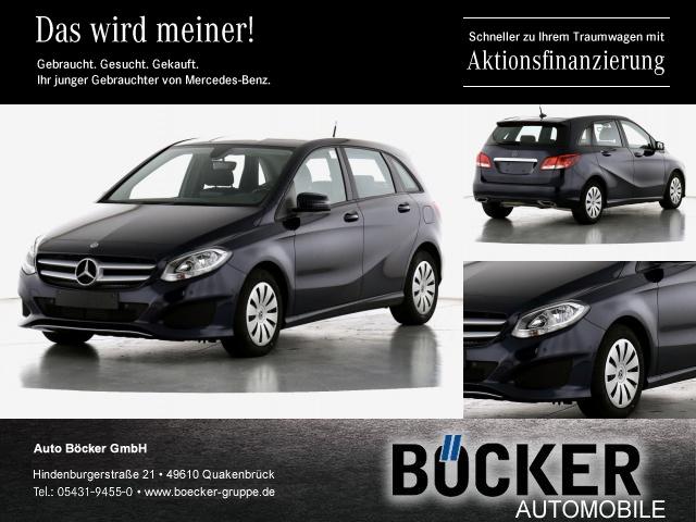 Mercedes-Benz B 220 d 7Gtronic Navi ParkP Kamera Sitzhzg MFL, Jahr 2017, Diesel