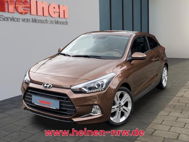 Hyundai i20 Coupe 1.4 Style KLIMA PDC SITZHEIZUNG, Jahr 2015, Benzin