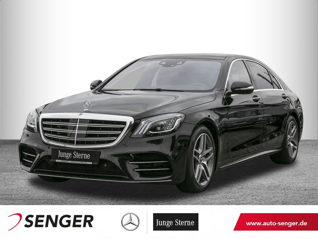 Mercedes-Benz S 500 lang *AMG*Pano*Fond-Entertain*Head-up*360°, Jahr 2020, Benzin