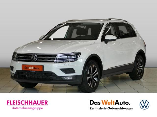 Volkswagen Tiguan Comfortline 1.5 TSI United+LED+Navi+AHK+HUD+ACC, Jahr 2020, Benzin