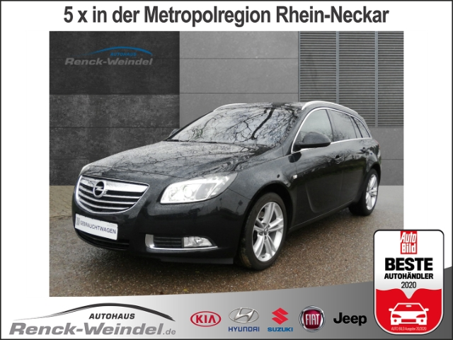 Opel Insignia A Sports Tourer Active 2.0 CDTI Dyn. Kurvenlicht e-Sitze Fernlichtass. Multif.Lenkrad, Jahr 2013, Diesel