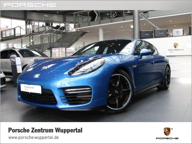 Porsche Panamera GTS / PTS / Indivdualfarbe Saphirblau, Jahr 2014, Benzin