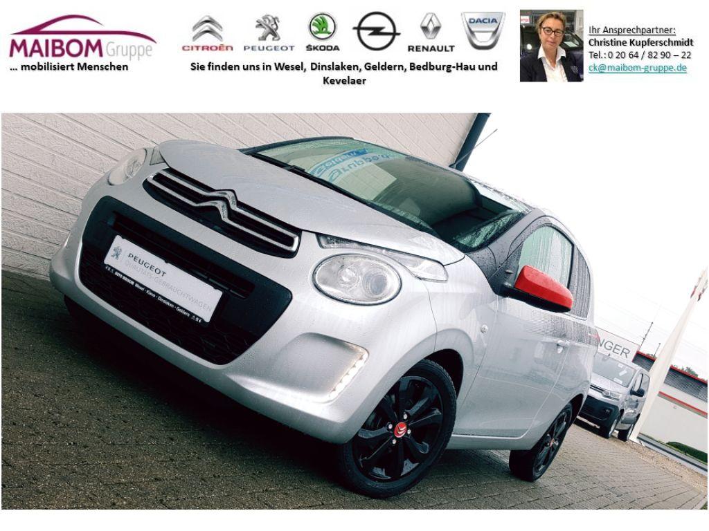 Citroën C1 PureTech 82 Furio Leichtmetallfelgen * Klimaanlage*, Jahr 2018, Benzin