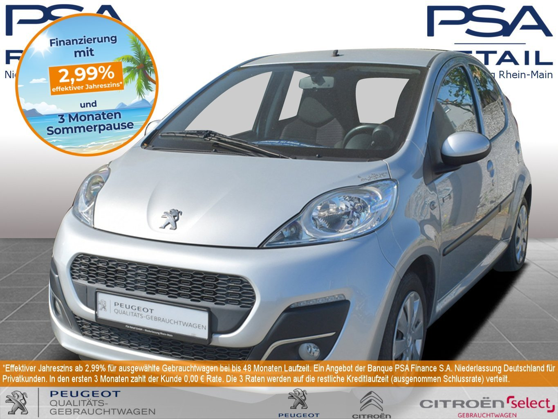Peugeot 107 Style 68 5t*KLIMA*, Jahr 2014, Benzin