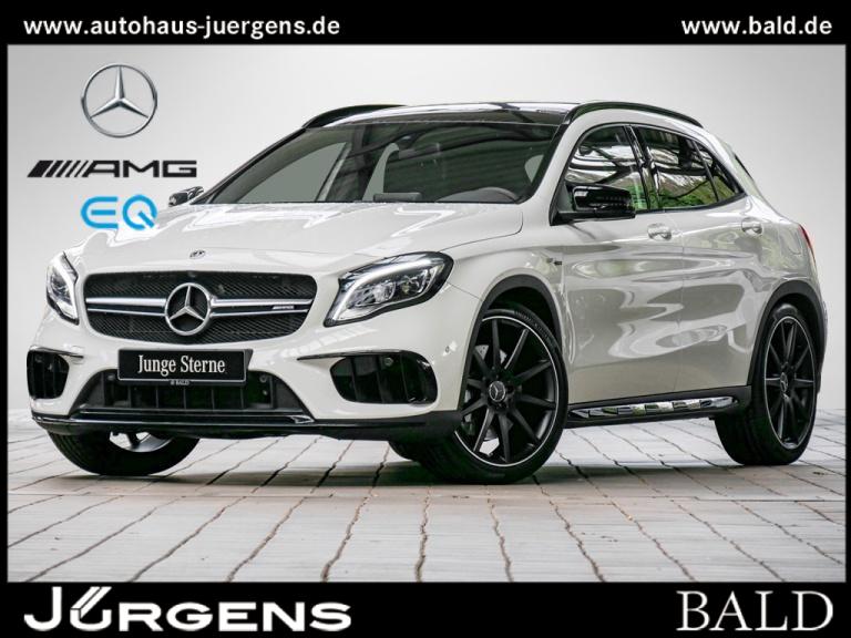 Mercedes-Benz GLA 45 AMG 4M Navi/LED/Park-P/Pano/Designo/20', Jahr 2017, Benzin