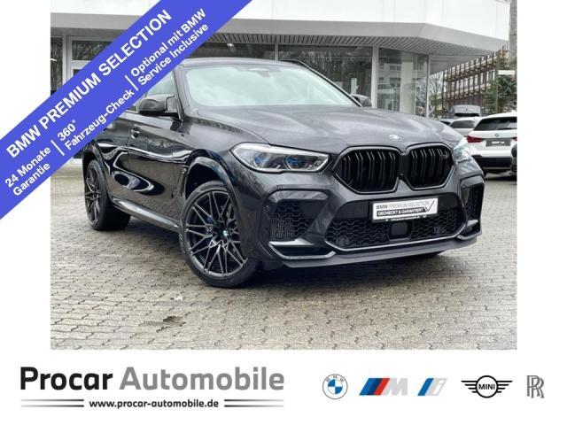 BMW X6 M Competition Pano B&W Laser DAB Sitzlüftung, Jahr 2020, Benzin