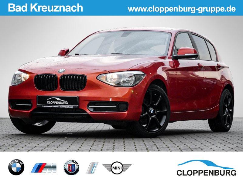 BMW 118d Sport KLIMA PDC SITZHZG -, Jahr 2014, Diesel