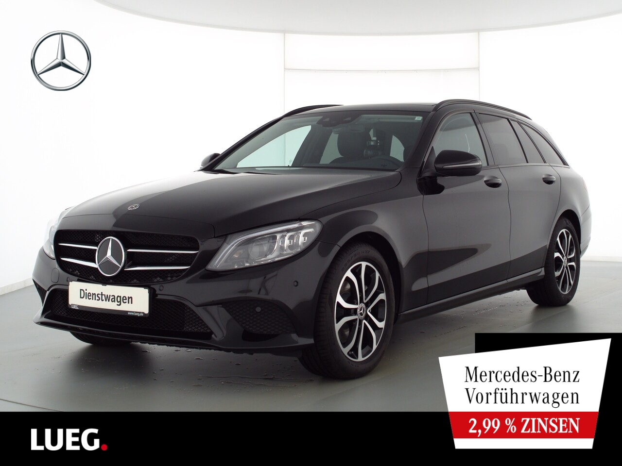 Mercedes-Benz C 180 T AVANTGARDE+NIGHT+AHK+PANO+MULTIBEAM+TOTW, Jahr 2021, Benzin