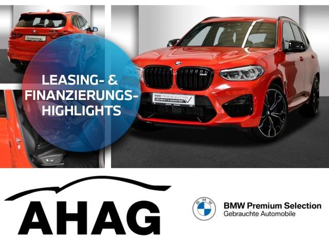 BMW X3 M COMP Leas ab 828Euro brutto o.Anz DriversPacka, Jahr 2019, Benzin