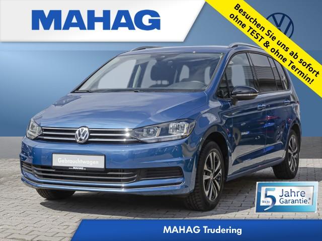 Volkswagen Touran 1.5 TSI BMT IQ.DRIVE 7-Sitzer ACC Navi Park Assist Bluetooth Alu AirCare DSG, Jahr 2020, Benzin