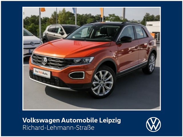 Volkswagen T-Roc Style 2.0 TDI SCR DSG *LED*Navi*DAB*, Jahr 2019, Diesel
