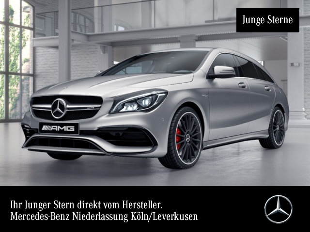 Mercedes-Benz CLA 45 4MATIC Shooting Brake Sportpaket Bluetooth, Jahr 2017, Benzin