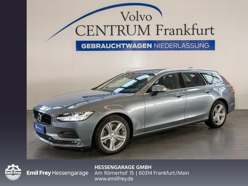 Volvo V90 D4 Aut Leder Luftf Standh HeadUp OnCall BLIS, Jahr 2017, Diesel