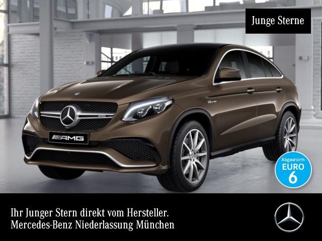 Mercedes-Benz GLE 63 AMG Cp. 4M Airmat Pano Distr+ COMAND Kamera, Jahr 2015, petrol