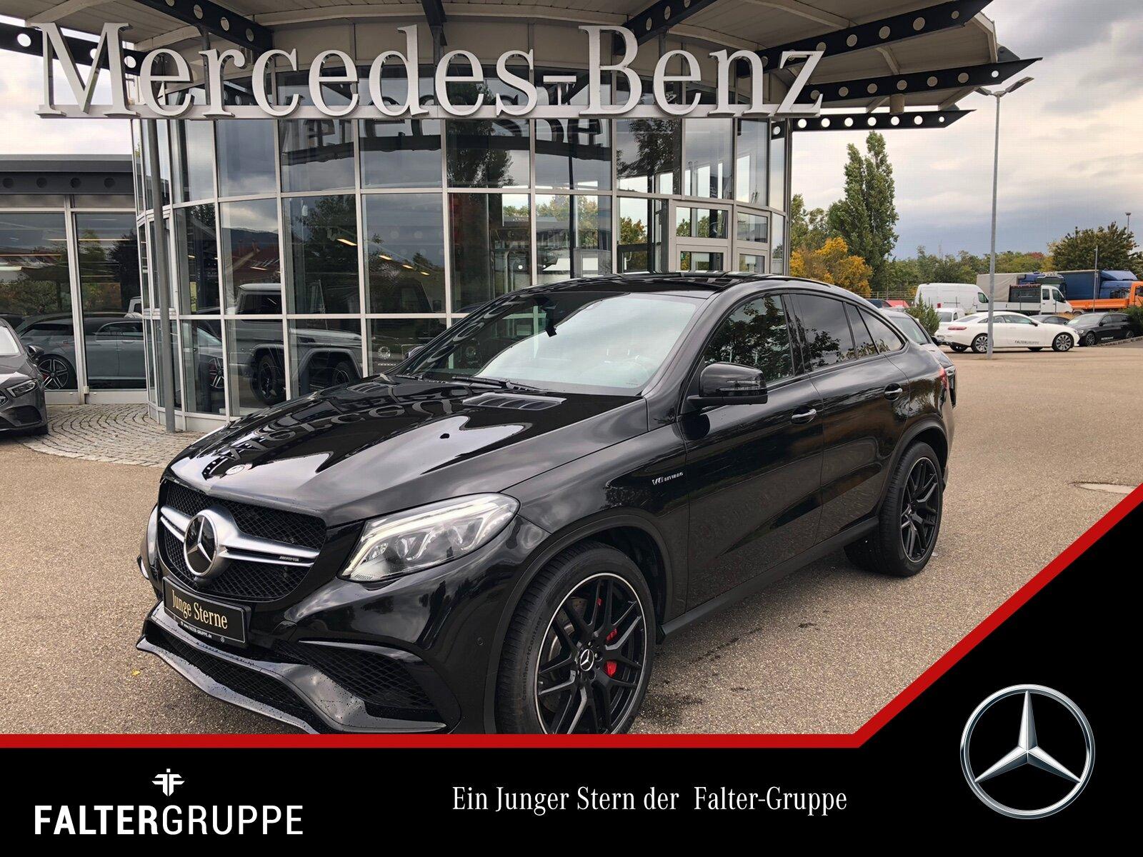 Mercedes-Benz GLE 63 S Night DISTRO Pano AIRMATIC Standhzg AHK, Jahr 2018, Benzin