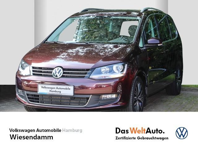 Volkswagen Sharan 2.0 TDI Allstar DSG 7 Sitze AHK anklappbar Klimatronic PDC EGD, Jahr 2016, Diesel