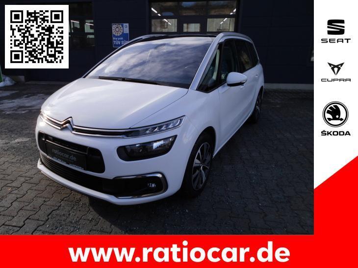 Citroën C4 GRAND PICASSO 1.2 PURE TECH 130 SELECTION AHK, Jahr 2017, Benzin