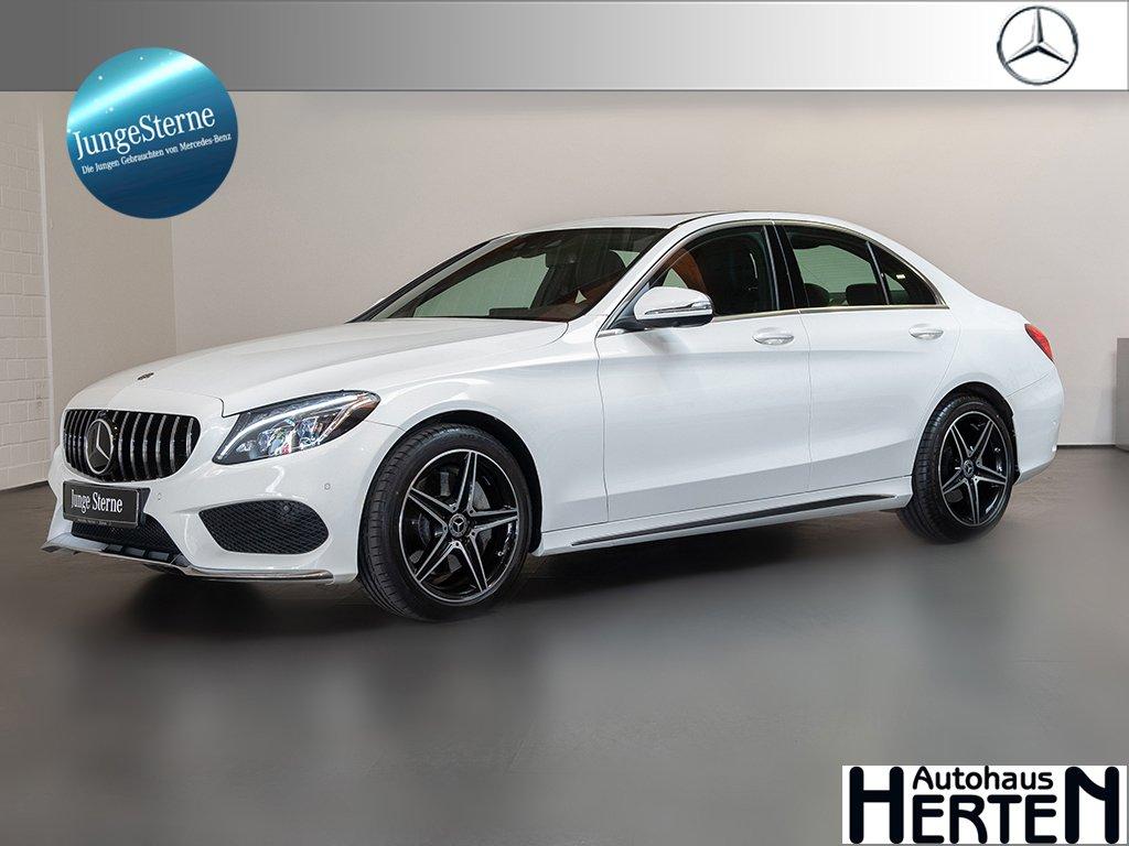 Mercedes-Benz C 400 4Matic AMG Line Fahrassistenz-P. SHD 360°, Jahr 2017, Benzin