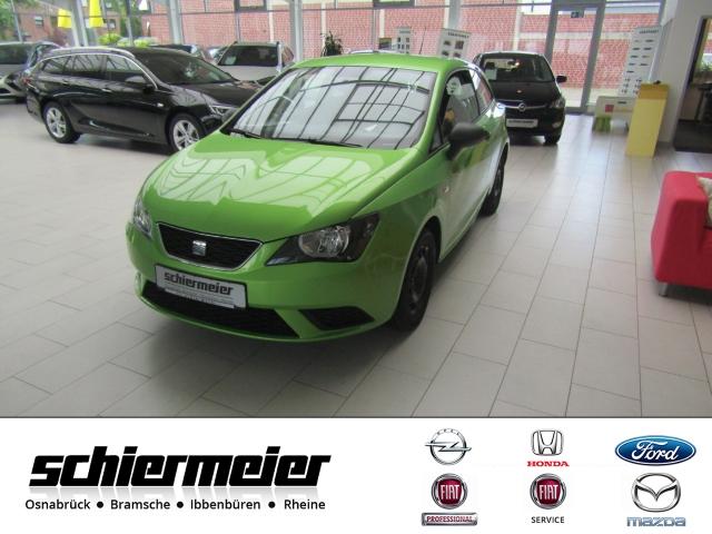 Seat Ibiza SC Reference 1.2 12V Klima ZV Top!, Jahr 2012, petrol