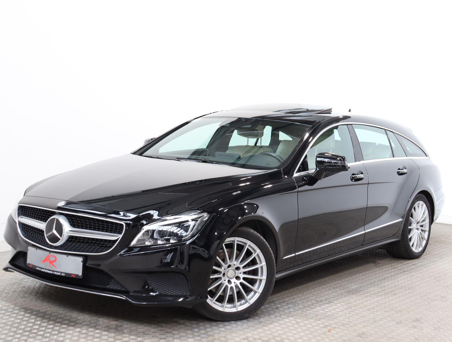 Mercedes-Benz CLS 350 Shooting Brake 4M KEYLESS,DISTRO,360GRAD, Jahr 2015, Diesel