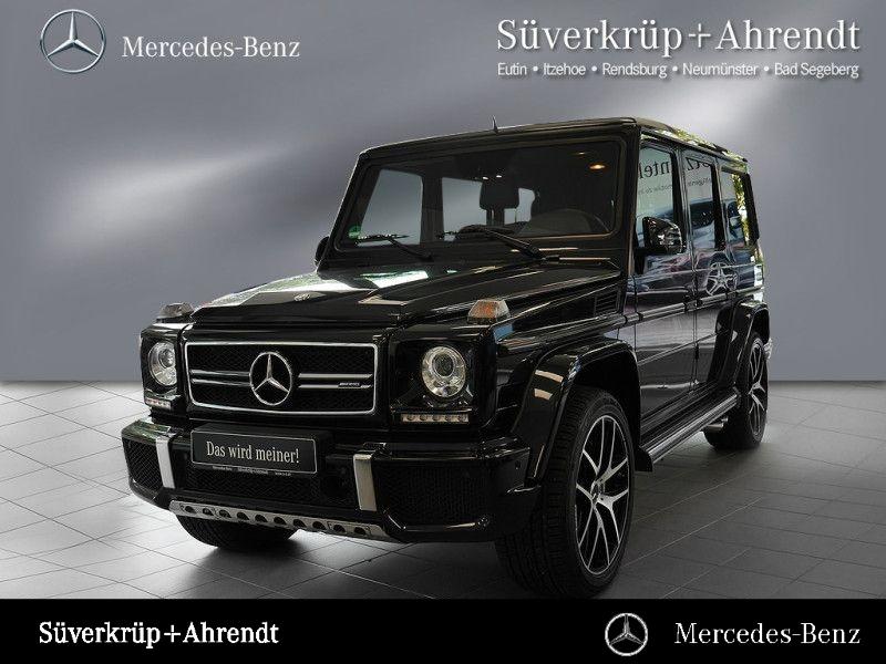 Mercedes-Benz G 63 AMG Distronic Comand Schiebedach AHK Harman, Jahr 2016, petrol