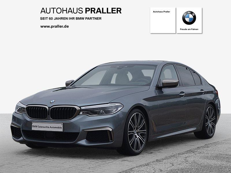 BMW M550i xDrive Lim Autom Massage AHK HeadUp Standhz, Jahr 2017, Benzin