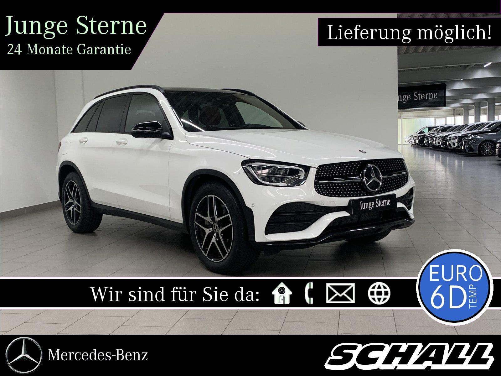 Mercedes-Benz GLC 400 d 4M AMG+NIGHT+PANO+LED+NAVI+360°+TOTWIN, Jahr 2019, Diesel