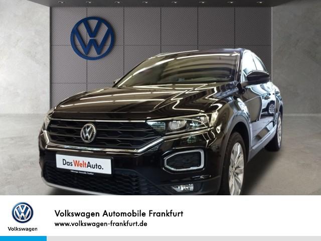 Volkswagen T-Roc 1.5 TSI Sport Navi Klima LM-Felgen Einparkhilfe T-ROC HLBMT 110TSI M6F, Jahr 2019, Benzin